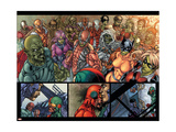 Avengers: The Initiative 15 Group: Gauntlet, Constrictor and Hellcat Prints by Harvey Tolibao