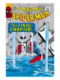 Amazing Spider-Man No.33 Cover: Spider-Man Posters by Steve Ditko