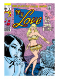 Marvel Comics Retro: My Love Comic Book Cover 2, Crying and Dancing Print