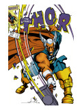 The Mighty Thor 337 Cover: Beta-Ray Bill Print by Walt Simonson