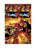 Marvel Adventures Iron Man No.3 Group: Iron Man, Pepper Potts and Virginia Posters by Ronan Cliquet