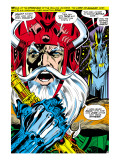 Thor 180 Headshot: Odin Poster by Neal Adams