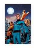 Fantastic Four No.525 Cover: Human Torch, Thing, Mr. Fantastic and Invisible Woman Kunstdrucke von Tom Grummett