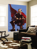 Thor: Ages Of Thunder - Reign Of Blood Cover: Thor Wall Mural