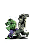 Incredibile Hulk 78 Cover: Hulk Prints by Lee Weeks