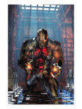 Deathlok No.1 Cover: Deathlok Print by Brandon Peterson