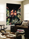 Nightcrawler No.12 Cover: Nightcrawler and Wolverine Wall Mural by Robertson Darick