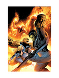 Ultimate Fantastic Four No.28 Cover: Super Skrull Prints by Greg Land