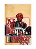 Captain America No.38 Cover: Red Skull Prints