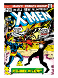Marvel Comics Retro: The X-Men Comic Book Cover No.97, Havok, My Brother-My Enemy! Art