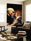 Black Widow No.6 Cover: Black Widow Wall Mural by Land Greg