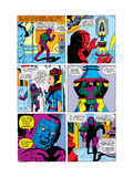 Giant-Size Avengers/Invaders No.1 Headshot: Kang Prints by Sal Buscema