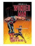 Wonder Man 3 Cover: Wonder Man and Ladykiller Prints by Andrew Currie