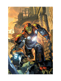 Ultimate Comics Armor Wars No.1 Cover: Iron Man Prints by Brandon Peterson