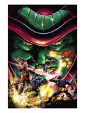 X-Men Unlimited No.13 Cover: Colossus, Wolverine, Beast, Cyclops, Phoenix and Mesmero Posters by Mann Clay