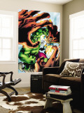 Marvel Adventures Hulk No.5 Cover: Hulk and Dr. Strange Wall Mural by Santacruz Juan