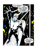 Marvel Comics Retro: Silver Surfer Comic Panel Pôsters