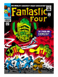 Marvel Comics Retro: Fantastic Four Family Comic Book Cover No.49, If This Be Doomsday! Art