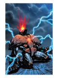 Crimson Dynamo 6 Cover: Crimson Dynamo Prints by Corroney Joe