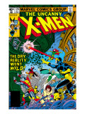 Uncanny X-Men 128 Cover: Wolverine, Colossus, Grey, Jean, Cyclops, Nightcrawler and X-Men Poster von George Perez