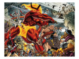 Thor 85 Group: Surtur and Beta-Ray Bill Posters by Andrea Di Vito