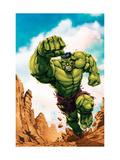 Marvel Age Hulk No.2 Cover: Hulk Art by Davis Shane