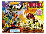 Phoenix: The Untold Story No.1 Cover: Grey Affiche par Byrne John