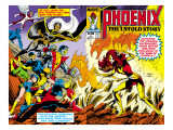 Phoenix: The Untold Story No.1 Cover: Grey Print by Byrne John