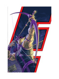 Avengers: Earths Mightiest Heroes No.6 Cover: Hawkeye Prints