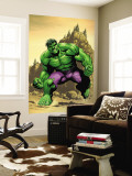 Incredible Hulk No.75 Cover: Hulk Wall Mural by Frank Gary