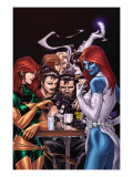 Wolverine Weapon X 10 Cover: Mystique, Phoenix and Wolverine Poster by Adam Kubert