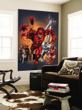 The Official Handbook Of The Marvel Universe: Daredevil 2004 Cover: Daredevil Wall Mural by Salvador Larroca