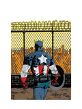 Captain America V4, No.22 Cover: Captain America Posters by Dave Johnson
