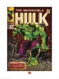 Marvel Comics Retro: The Incredible Hulk Comic Book Cover No.105 Print