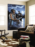 Wolverine Punisher No.3 Cover: Wolverine and Punisher Wall Mural by Brunner C