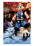 Thor: Tales of Asguard by Stan Lee & Jack Kirby No.1 Cover: Thor Posters by Coipel Olivier