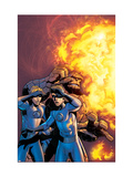 Fantastic Four No.519 Cover: Human Torch and Thing Posters by Mike Wieringo