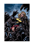 The Mighty Avengers 11 Cover: Ms. Marvel Prints by Mark Bagley