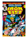 The Immortal Iron Fist: Marvel Premiere 15 Cover: Iron Fist Prints by Gil Kane