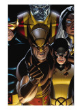 Wolverine: First Class 12 Cover: Wolverine and Shadowcat Prints by David Williams