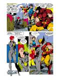 Uncanny X-Men No.268 Group: Black Widow, Wolverine, Psylocke and Jubilee Prints by Jim Lee