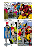 Uncanny X-Men 268 Group: Black Widow, Wolverine, Psylocke and Jubilee Prints by Lee Jim
