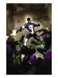 Punisher War Journal 25 Cover: Punisher Print by Alex Maleev