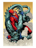 Marvel: Monsters On The Prowl No.1 Group: Giant Man and Grogg Prints by Fegredo Duncan