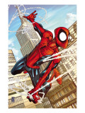 Marvel Adventures Spider-Man 50 Cover: Spider-Man Print by Patrick Scherberger