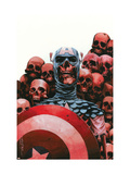 Captain America: The Chosen 5 Cover: Captain America Affiches par Mitchell Breitweiser