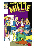The Age Of The Sentry 3 Group: Sentry, Millie and Chili Poster by Coover Colleen
