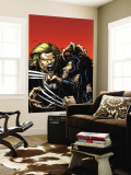 Wolverine No.15 Cover: Wolverine and Sabretooth Wall Mural by Robertson Darick