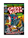 Marvel Spotlight 5 Cover: Ghost Rider Art par Mike Ploog