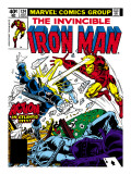 Marvel Comics Retro: The Invincible Iron Man Comic Book Cover 124, Action in Atlantic City Prints